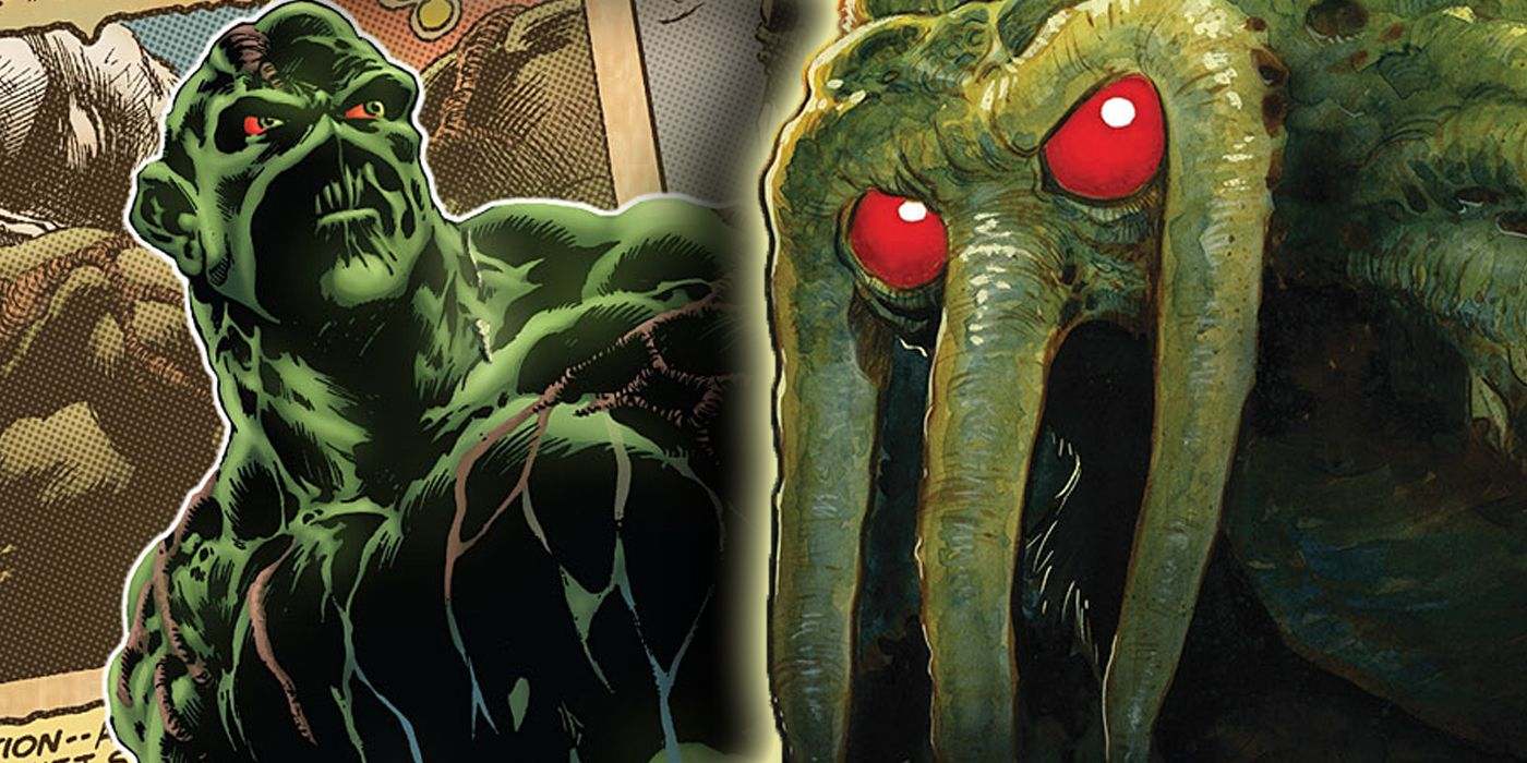 Swamp Thing vs Man-Thing: What Makes Marvel and DC's Monsters Different