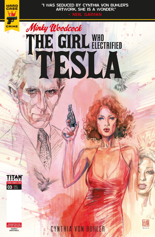 PREVIEW: Minky Woodcock: The Girl Who Electrified Tesla #3 | CBR