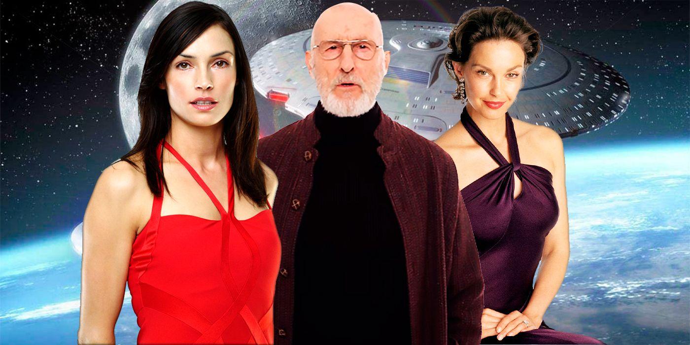 Star Trek: The Next Generation Famous Guest Stars   CBR