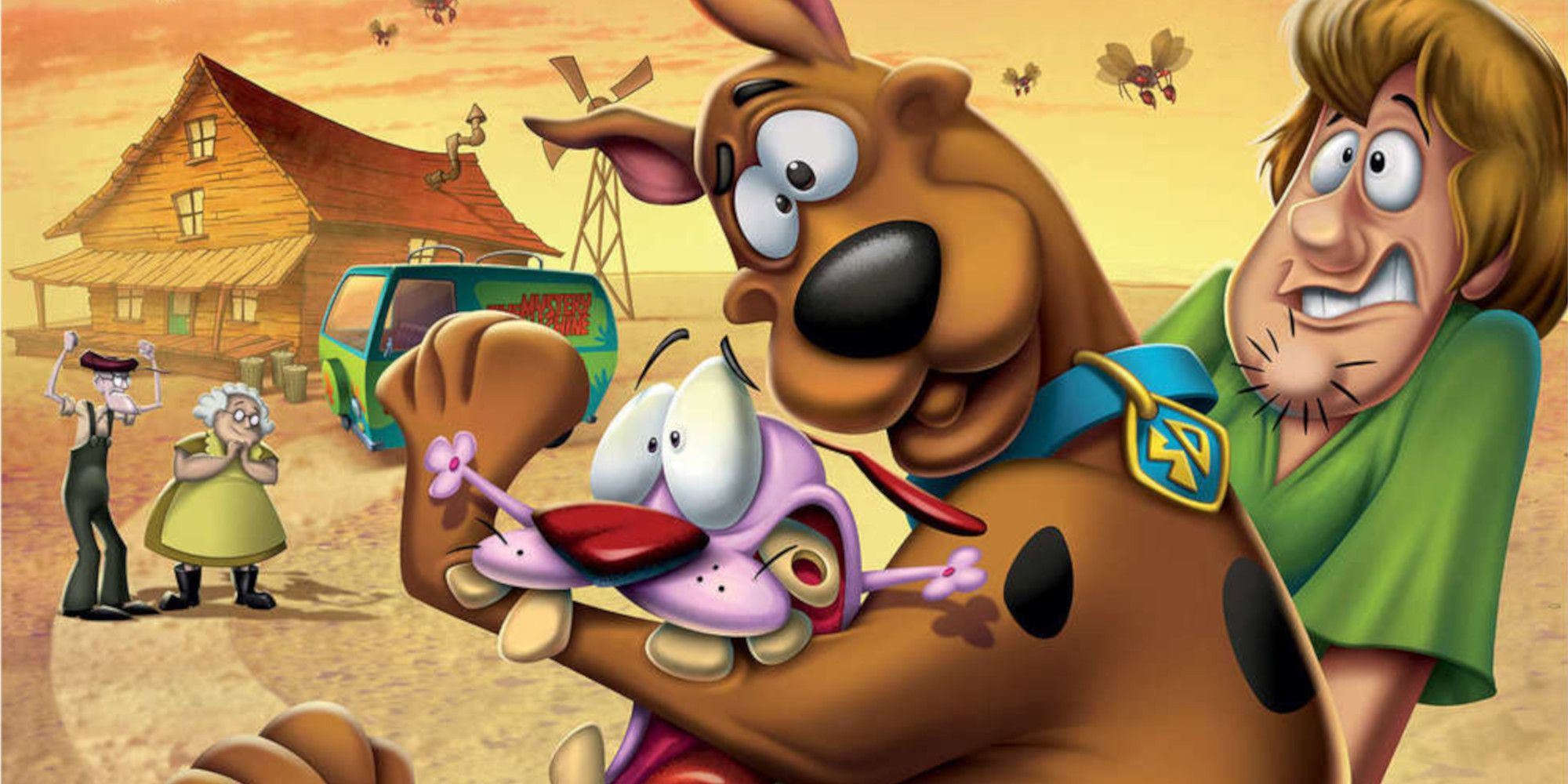 Scooby-Doo and Courage the Cowardly Dog Team Up in Cartoon Network Film