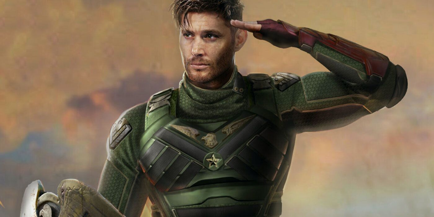 The Boys' Jensen Ackles Salutes the Troops in Soldier Boy Concept Art