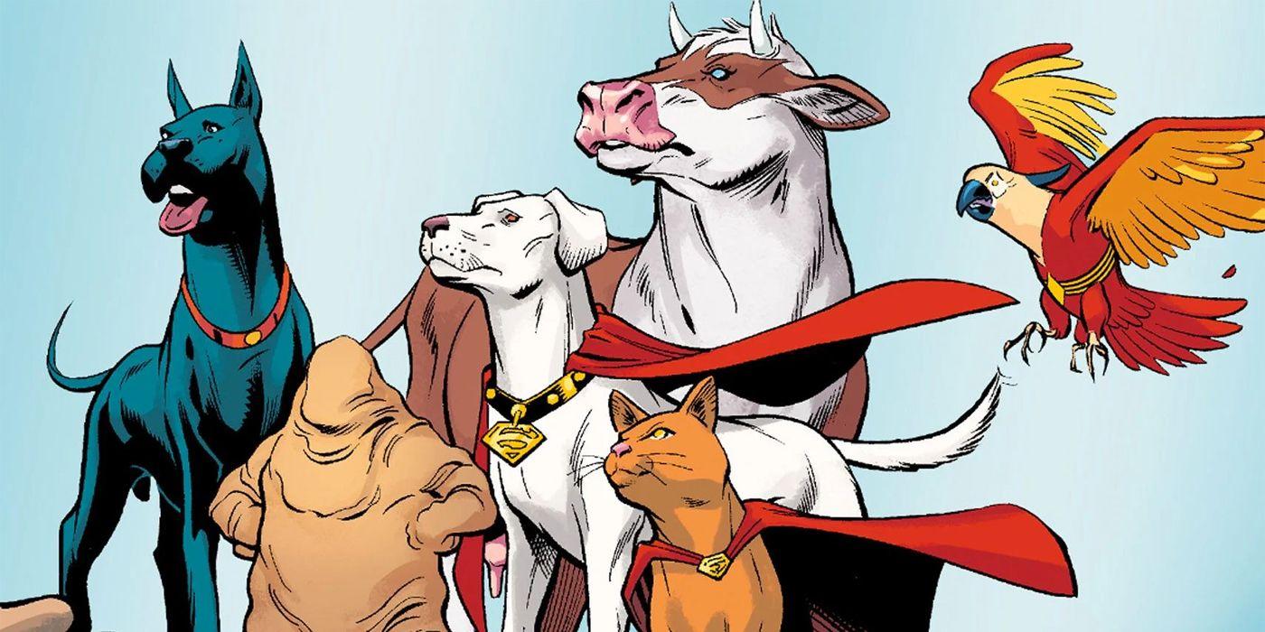 DC League of Super-Pets Recruits Kevin Hart, Keanu Reeves, John Krasinski and More