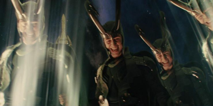 Loki often uses his power of multiple duplicate casting himself to trick his enemies, but Thor is strong enough to destroy all Loki's duplicates.