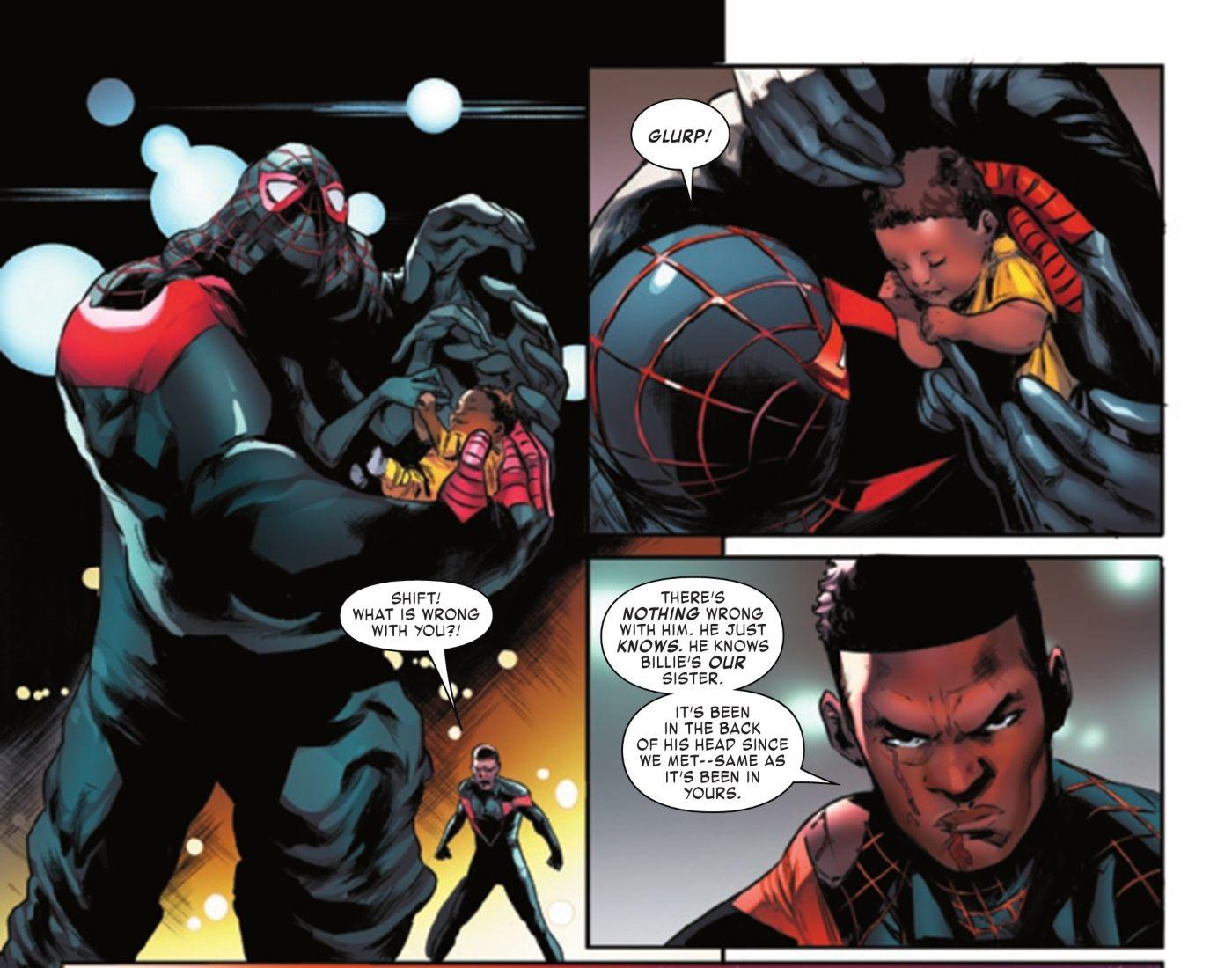 A saga do clone do Homem Aranha Miles Morales dá a ele um novo ... Irmão ?! 1