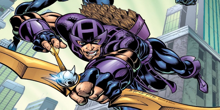Hawkeye has mastered various weapons with a unique blend of styles, hanging with the best of the best.