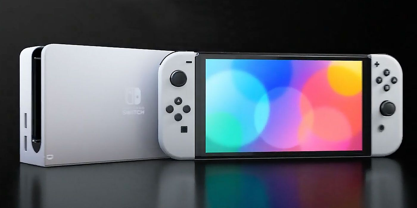 Nintendo Switch OLED Model Officially Announced