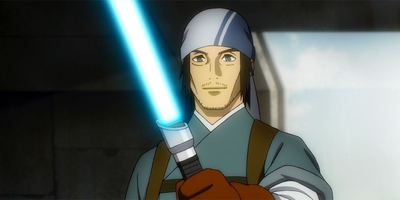 """Simu Liu as a Jedi in """"Star Wars: Visions"""""""