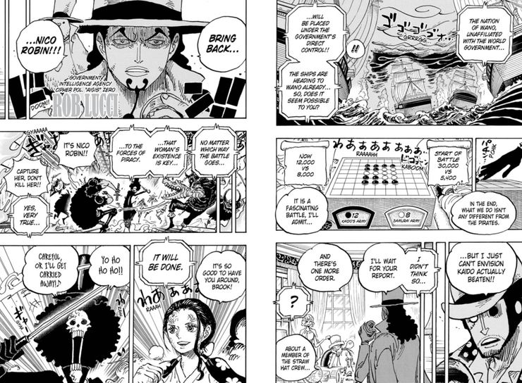 One Piece Chapter #1028 Recap & Spoilers: Brachiosnakeus | CBR