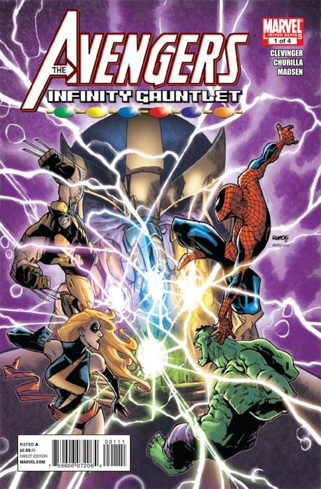 avengers and the infinity gauntlet #1 | cbr