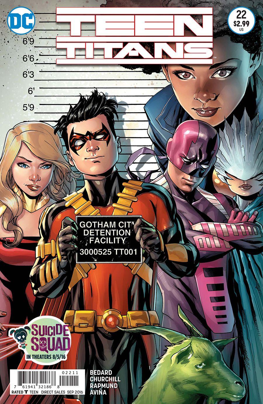 Teen Titans Cbr 30