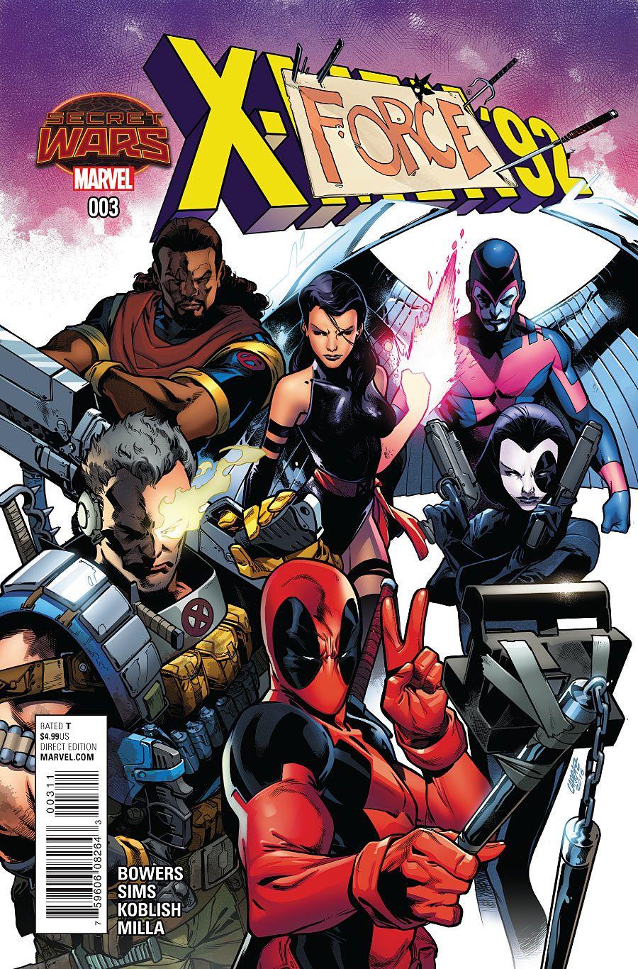 X-Men '92 #3 | CBR