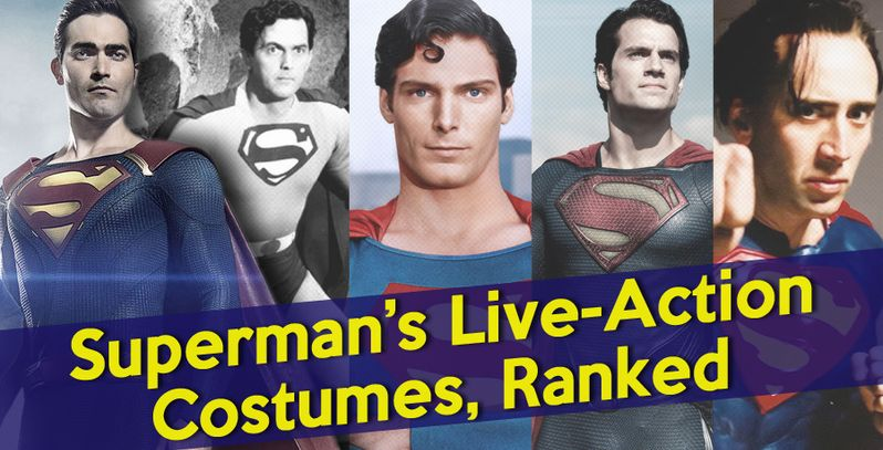 Superman's Live-Action Costumes, Ranked: